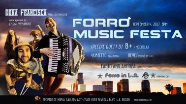Forró In LA - Sept 17